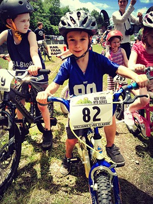 Racers in the kids' race at the Williams Lake Classic - LISA ZIPPO