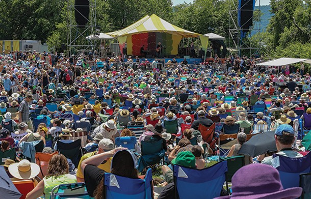 Rainbow Stage at Clearwater Festival - ECONOSMITH
