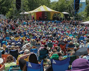 Rainbow Stage at Clearwater Festival