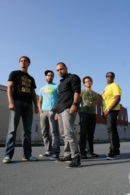 ReadNex Poetry Squad (Decora, far left).