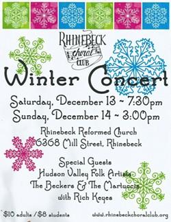 Rhinebeck Choral Club 2014 Winter Concert