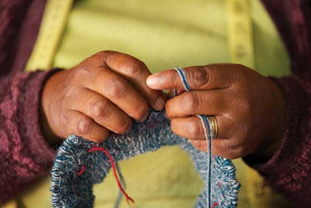 RSF Social Finance works with Indigenous Designs, who specialize in organic and fair trade fashion created by artisans from the poorest regions of South America.