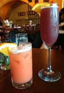 Salida del Sol & Salamosa brunch cocktails at Sala on Hudson