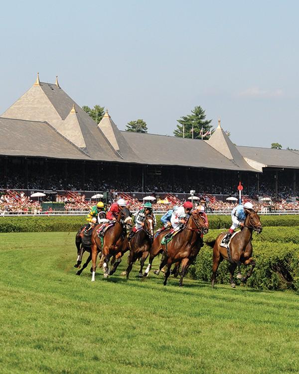 Saratoga race course. - ADAM COGLIANESE