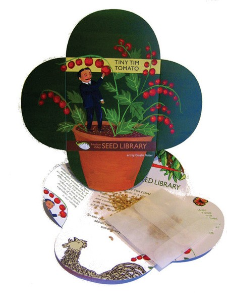 Seed Pack Art by Giselle Potter