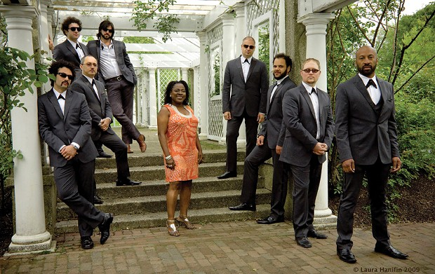 Sharon Jones and the Dap-Kings will perform at the Bardavon in Poughkeepsie on January 23.