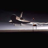 Space Shuttle Lands on Another World