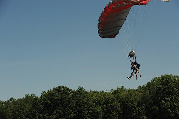 Skydive the Ranch in Gardiner.