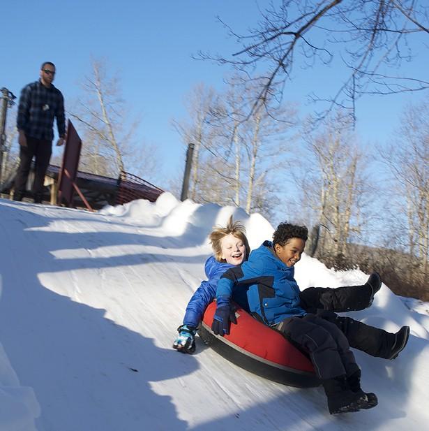 Snow tubing at Frost Valley YMCA - SARA MUNOZ