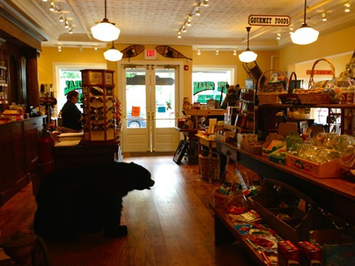 Souvenirs, accessories and retro toys for sale at Tannersville General Store