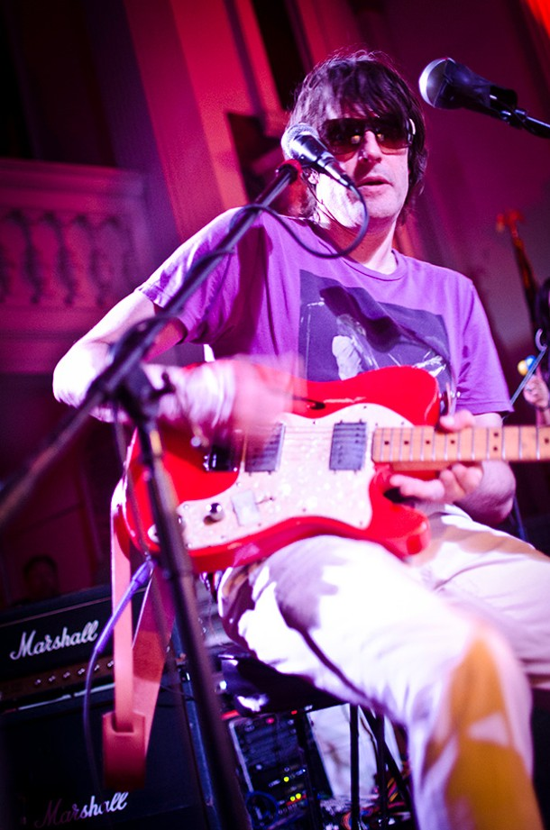 Spiritualized's Jason Pierce performing at the O+ Festival on October 13. - ANDREW MCGREGOR
