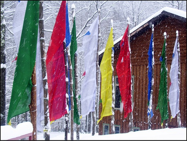 Start your year off right in the heart of the snowy Catskills for a quiet, inspiring, and reinvigorating New Year's retreat.