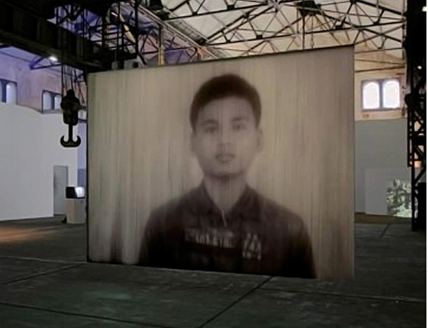 """Still from Alice Miceli's single-channel video-projection """"88 from 14,000""""."""