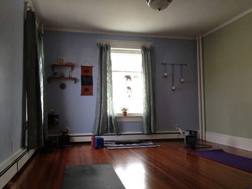 Studio at The Yoga House in uptown Kingston