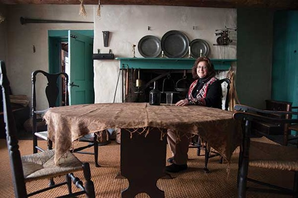 Suzanne Hauspurg, director of the Ulster County Historical Society.