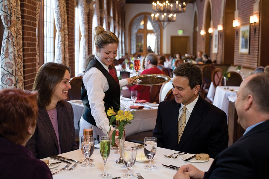 The American Bounty restaurant at the Culinary Institute of America in Hyde Park. All the CIA's restaurants are participating in this year's Hudson Valley Restaurant Week (March 18-31).