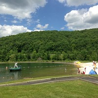 Summer Escape: Pine Hill Lake Beach at Belleayre Mountain