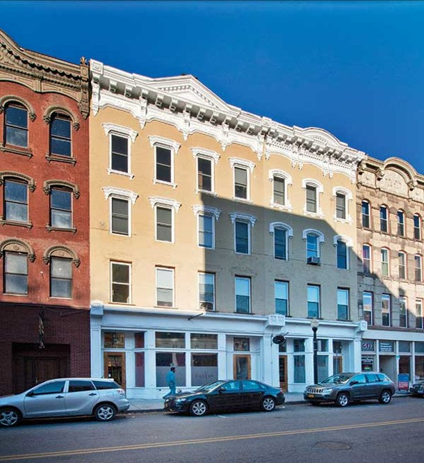 The building housing the Marston-Reid's loft. - DEBORAH DEGRAFFENREID