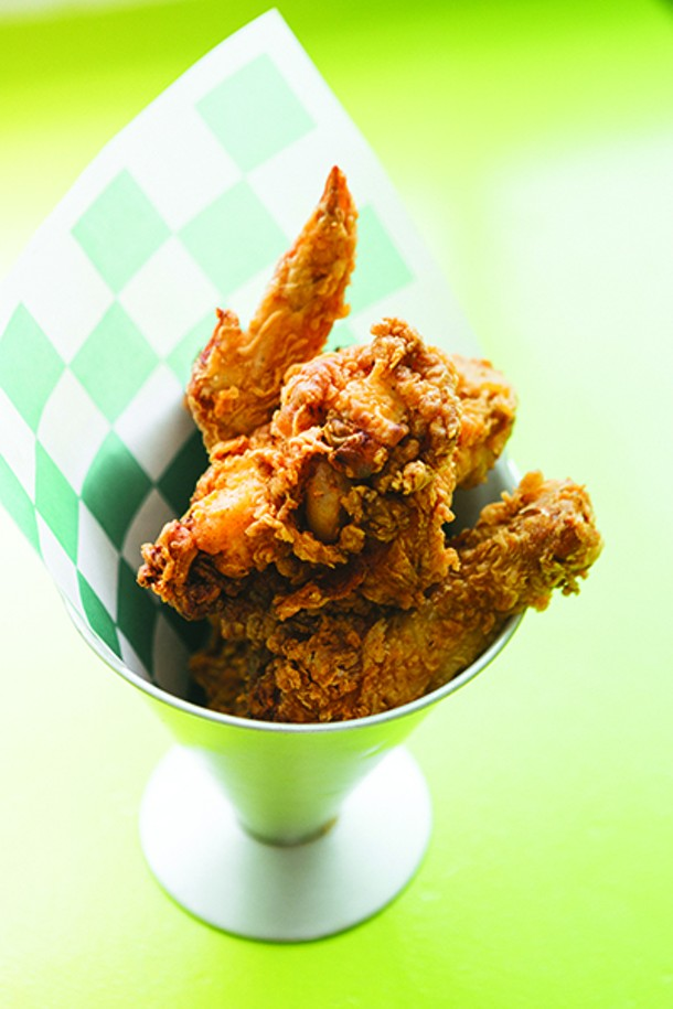 The buttermilk fried chicken is a house specialty at Kitchenette in High Falls. - THOMAS SMITH