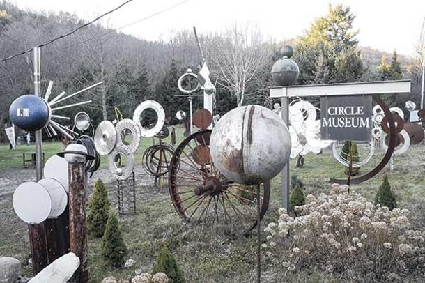 The circle museum in Austerlitz. - DAVID MORRIS CUNNINGHAM