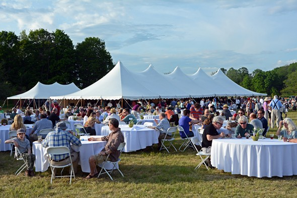 The Country Barbecue fundraiser for Columbia Land Conservancy - PETER BLANDORI