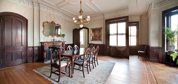The dining room. - DEBORAH DEGRAFFENREID