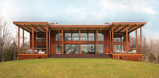 An Architect Designed Lindal Kit Home House Profiles