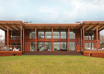 An Architect-Designed Lindal Kit Home