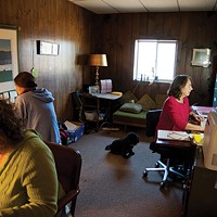 Field Goods The Field Goods office (l-r): Meredith Baade, Jess Beals, and Donna Williams. Roy Gumpel