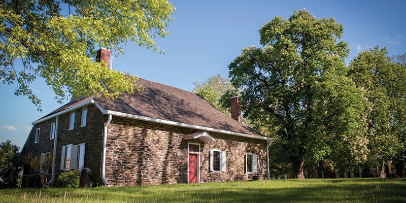 Newburgh The Hasbrouck House at Washington's Headquarters State Historic Site. Anne Cecille Meadows