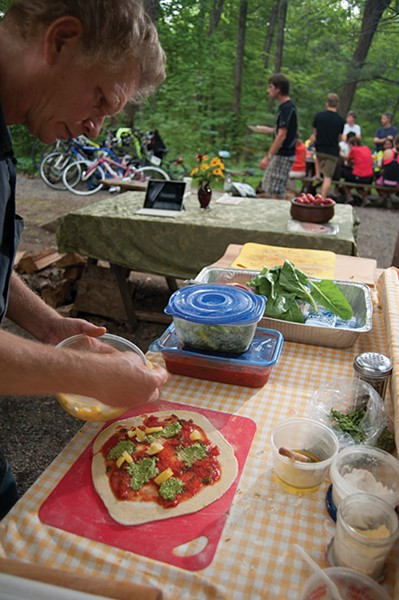 The homemade pizza is especially popular - ROY GUMPEL