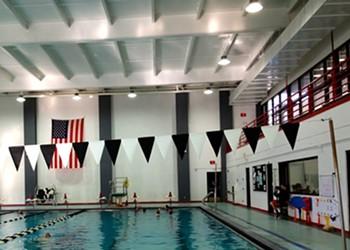 Swim the Winter Blahs Away: Huge Indoor Pool at Bard College