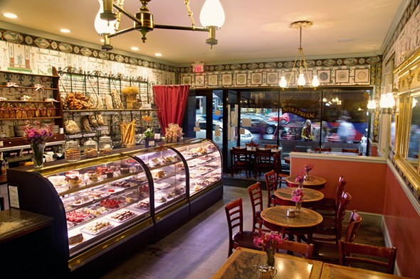 The interior of the Mrs. London's bakery - VISUAL RECOLLECTION