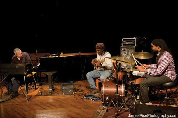 The Jean-Michel Pilc Trio at the Falcon on January 4. - JAMESRICEPHOTOGRAPHY.COM