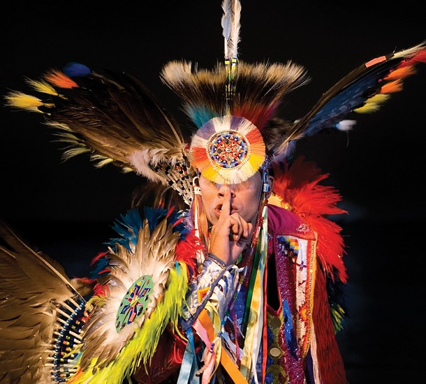 The Lakota Sioux Dance Theater will perform at the Bardavon in Poughkeepsie on November 12.