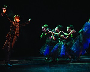 The Lar Lubovitch Dance Company performs at Kaatsbaan on June 20.