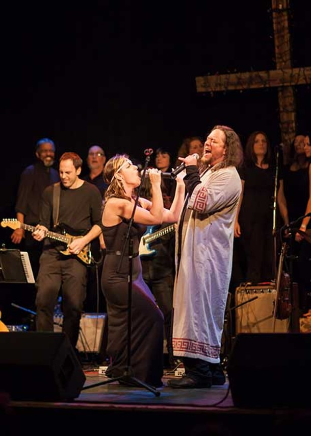 "The music of ""Jesus Christ Superstar"" was performed at the Bearsville Theater on February 9 and 10."
