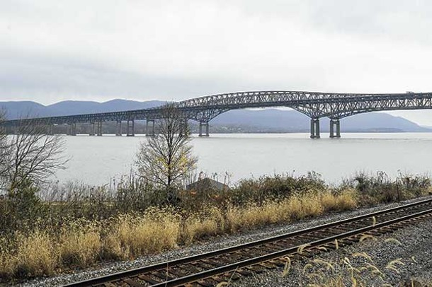 The Newburgh-Beacon Bridge - DAVID MORRIS CUNNINGHAM