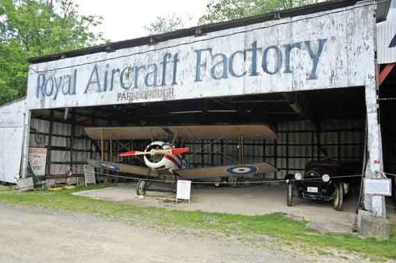 The Old Rhinebeck Aerodome. - DAVID CUNNINGHAM