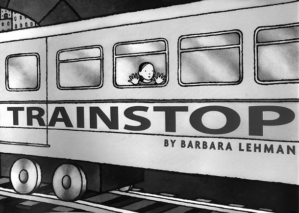 The picture book Trainstop was written by local author Barbara Lehman.