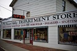 The Pleasant Valley Department Store brings old-time charm to Pleasant Valley's Main Street. - NATALIE KEYSSAR