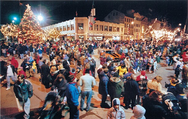 The Poughkeepsie Celebration of Lights takes place on Friday, December 2.