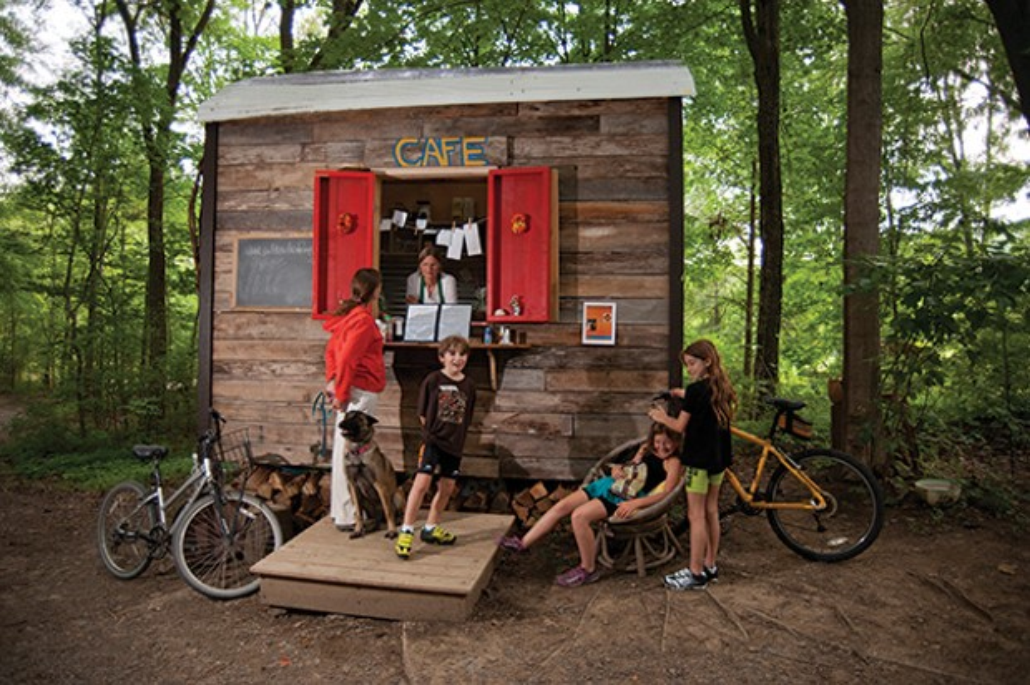 The Rail Trail Cafe New Paltz Ny