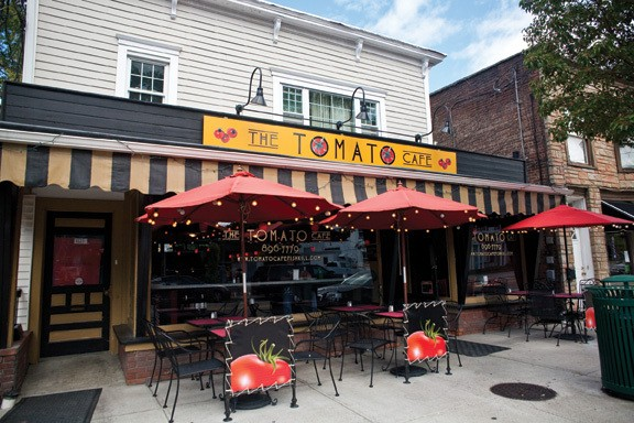 The Tomato Cafe in the Village of Fishkill. - NATALIE KEYSSAR
