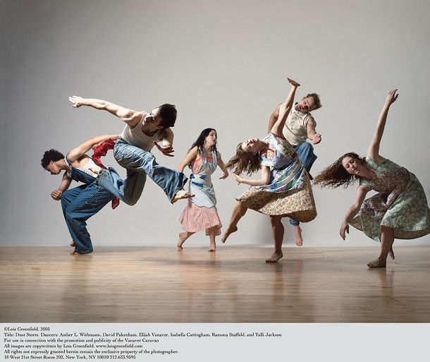 The Vanaver Caravan dancers. - LOIS GREENFIELD