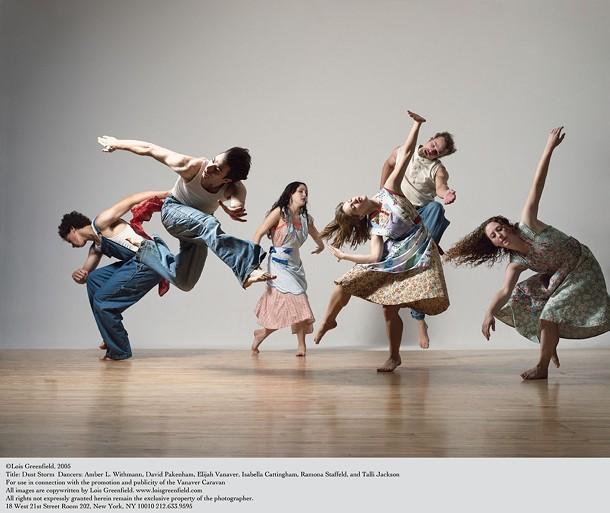 The Vanaver Caravan dancers. - LOIS GREENFIELD