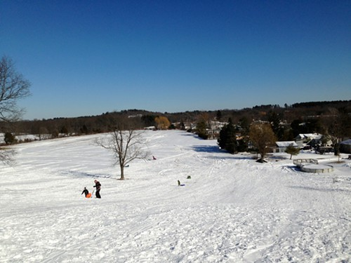 The view from up top: Snyders Hill at Snyders Farm