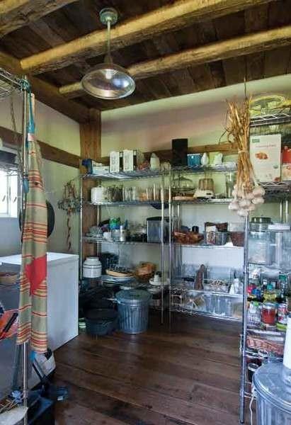 The walk-in pantry. - DEBORAH DEGRAFFENREID