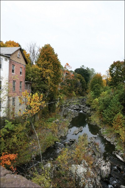 The Wappinger Creek in downtown Wappingers Falls. - AMBER S. CLARK