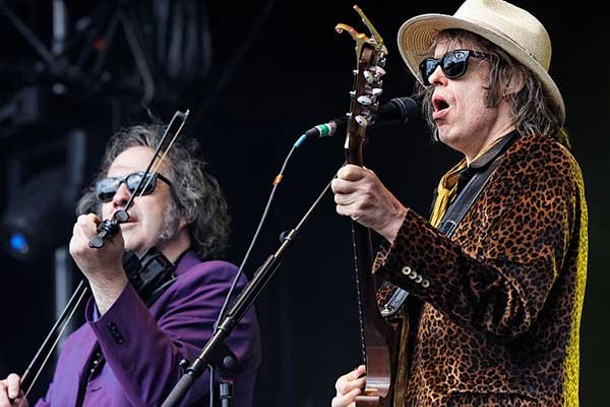 The Waterboys play the Festival du Bout du Monde in France, 2012.